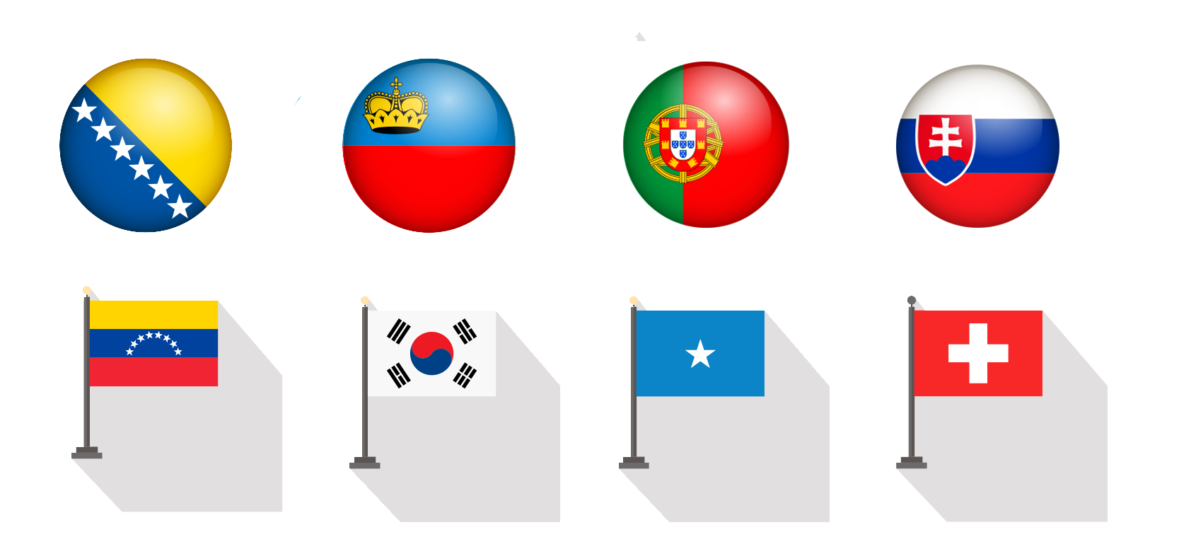Best Country Flag Icons
