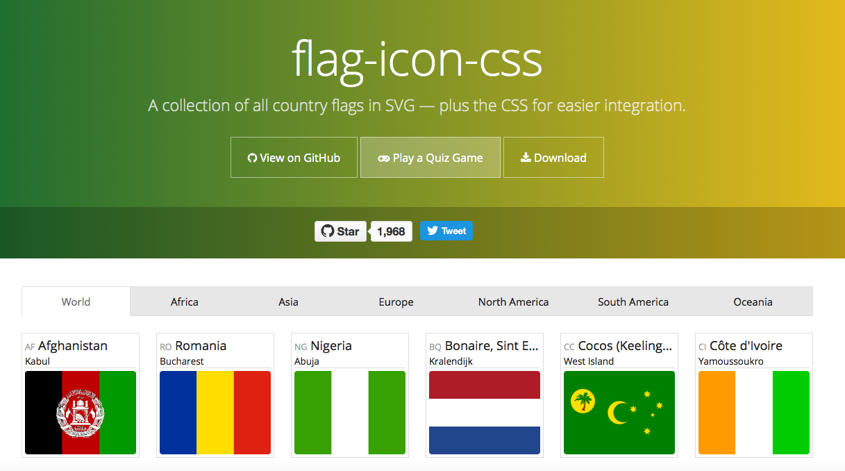 Flag WordPress Plugin